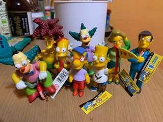 Simpsons 一套 正版公仔