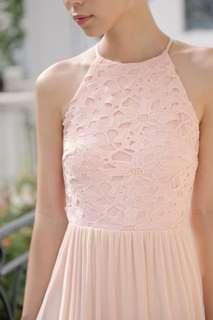 Threadtheory Whirlwind Romance Dress (Pastel Peach)