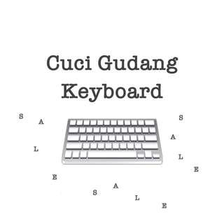 Cuci Gudang Keyboard