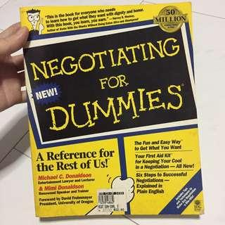 Negotiatings for Dummies