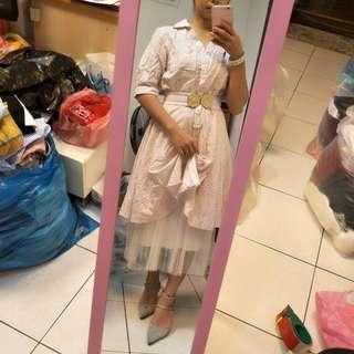 🚚 條紋襯衫裙裝👗