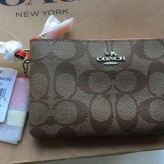 Coach Wristlet - Brand New, Authentic