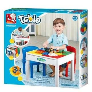 3in1 Kids Playing Table