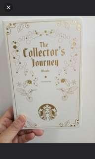 Starbucks card collection book