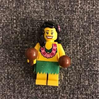 Lego 人仔 夏威夷女