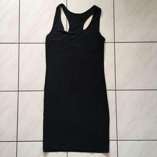 (FREE) Black Bodycon Dress