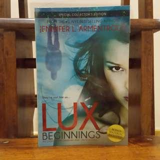 Lux Beginnings by Jennifer L. Armentrout (includes Obsidian &Onyx)