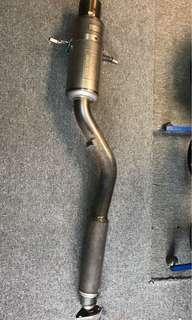 Titanium Fujitsubo muffler exzos