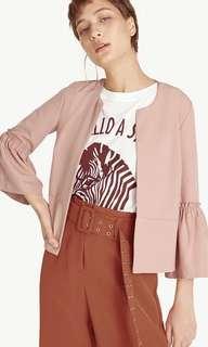 🚚 Pomelo Fashion Wide Sleeve Cropped Jacket