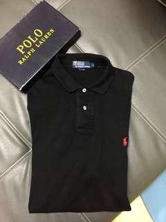 Ralph Lauren Polo Shirt Black Authentic Preloved