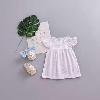 Baby White Girl Dress