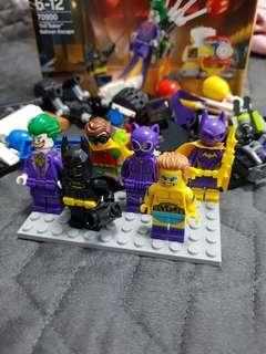 LEGO Batman & Friends Minifigures