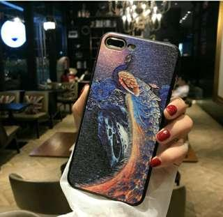 Iphone Casing Peacock Design #EVERYTHING18