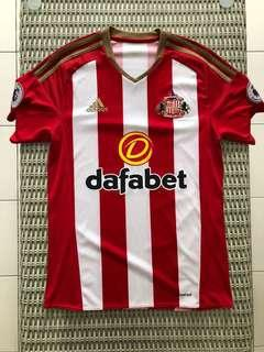 Adidas 💯% Authentic home Sunderland home jersey , w EPL badge for SGD$47 (size S)