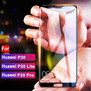 Huawei P20 P20 Pro 6D Full Screen Protector Tempered Glass