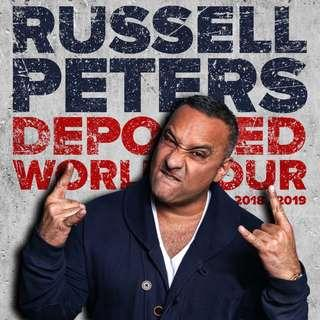 Russell Peters: Deported World Tour @ The Scotiabank Arena - Nov 15 @ 8 pm