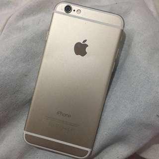 IPHONE 6 128GB GOLD ICLOUD LOCK