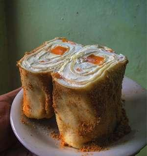Mango Graham (Crepe roll cake)