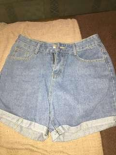 Baggy style shorts