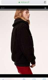 aritzia teddy jacket
