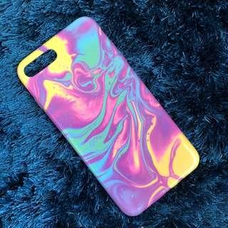 case marble candy iphone 7+ dan 8+