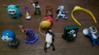 Mcdonald collection toys