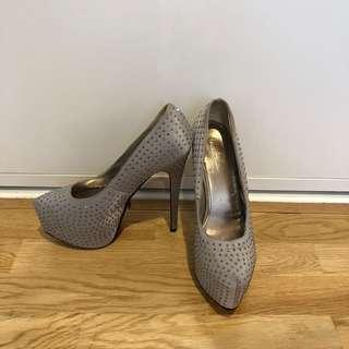 Silver Studded Marco Gianni Heels