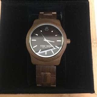 Classic Walnut Watch