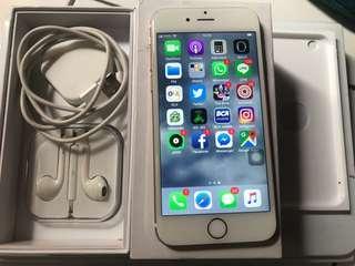 Iphone 6 16gb gold normal fullset