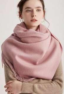 🚚 超美純cashmere厚款圍巾多色可訂,數量極少