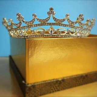 閃亮亮頭飾小皇冠