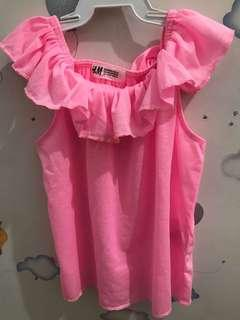 Stabilo Pink Blouse by H&M