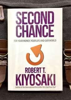 《BRAN-NEW !  + New Financial Mindset For Building Wealth In New World 》Robert Kiyosaki - SECOND CHANCE : For Your Money, Your Life and Our World
