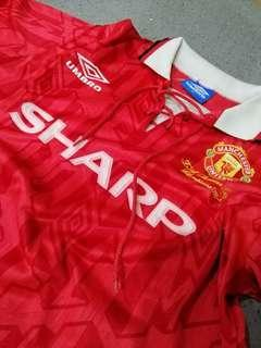 Manchester United 1993-1994 Home Jersey (repro)