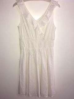 H & M Girls white dress