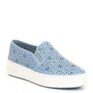 MICHAEL Michael Kors Trent Perforated Slip-On Sneakers
