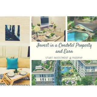 Affordable Pre-selling Condotel with Guaranteed Income