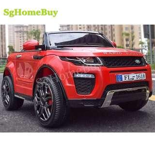 Instock - Red Range Rover kids electric car