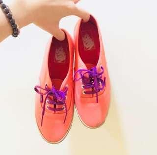 🚚 《正》Vans經典粉色帆布鞋 鞋碼24.5
