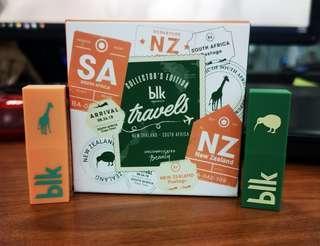 BLK Matte Lipstick: New Zealand x South Africa