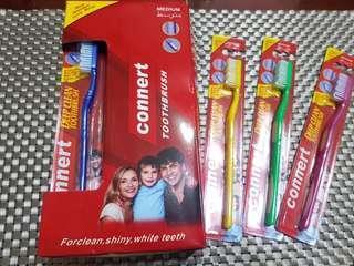 🚚 🆕️深層清潔多彩牙刷一大盒 (12支入)