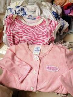 Preloved 0-12 months homewear bundle A