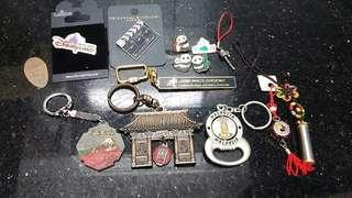 (八九十年代)-中,日,韓,各式旅遊記念品(全部$80)