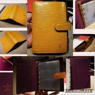 *Clearance* Authentic LV Louis Vuitton EPI Agenda PM