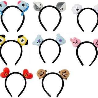 BT21 cartoon bts headband hairband accessory