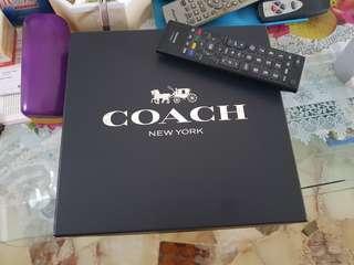 Coach box.