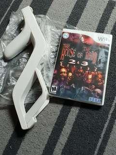 Wii Game House of the Dead with zapper