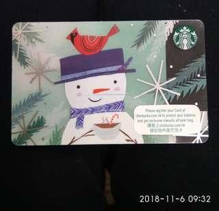 珍藏纪念品(Starbucks Card)