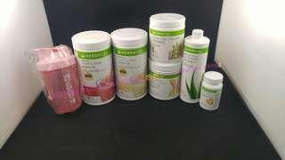 包郵(送400ml盃+1000ml大水樽)Herbalife基礎減肥套裝