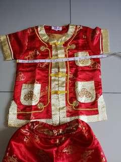 Chinese traditional costume for Boys